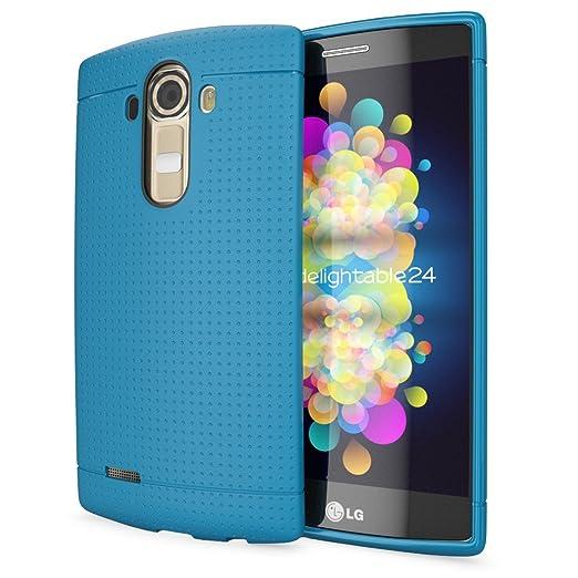 30 opinioni per LG G4 Cover Custodia Protezione di NICA, Punti TPU Silicone Gel Case Protettiva