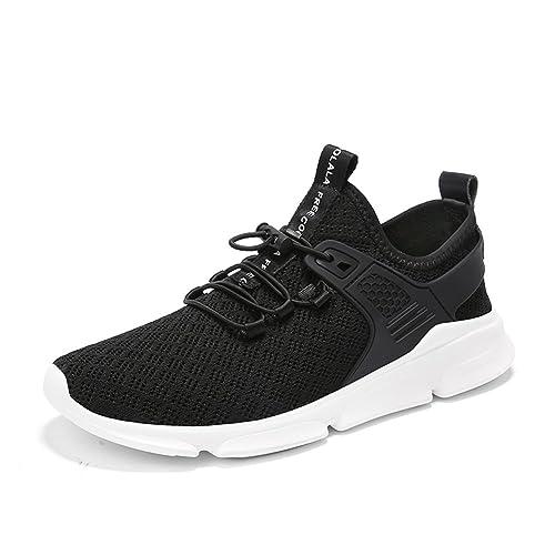 Los Holgazanes de los Hombres Que Caminan los Zapatos Resbalón Plano Plano en los Mocasines de Conducción Ligeros Penny Loafer Sneaker para el Trabajo del ...
