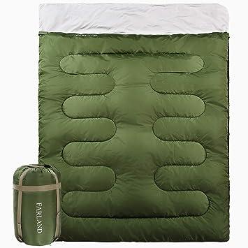 Amazon.com: FARLAND - Saco de dormir de camping para adultos ...
