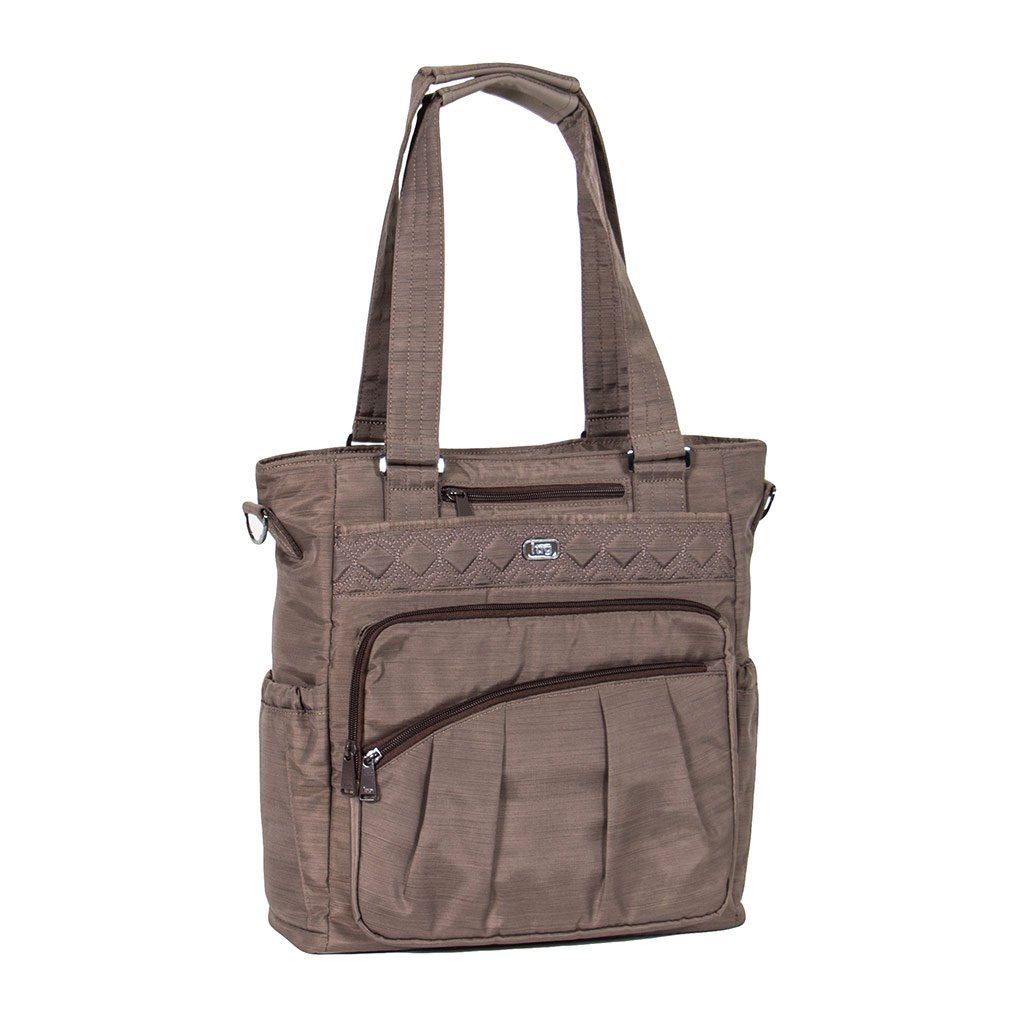 Lug Clothing, Shoes and Jewelry Bag Travel Tote, Brushed Walnut, One Size