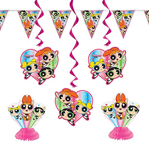 (Powerpuff Girls Party Decoration Kit,)