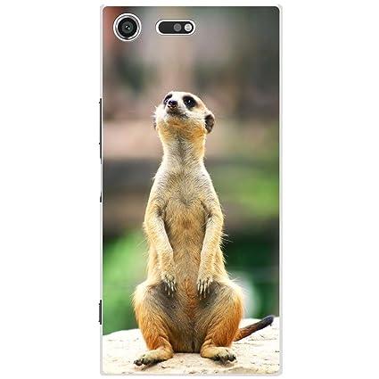 Cute Cheeky Meercat Fancy a Snuggle Coque rigide pour t/él/éphone portable Motif suricate plastique Huawei Ascend Y330
