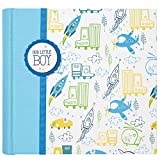 C.R. Gibson'Our Little Boy' Slim Bound Photo Journal Album for Baby and Newborn Boys, 9' W x 8.875' H, 80 Pages