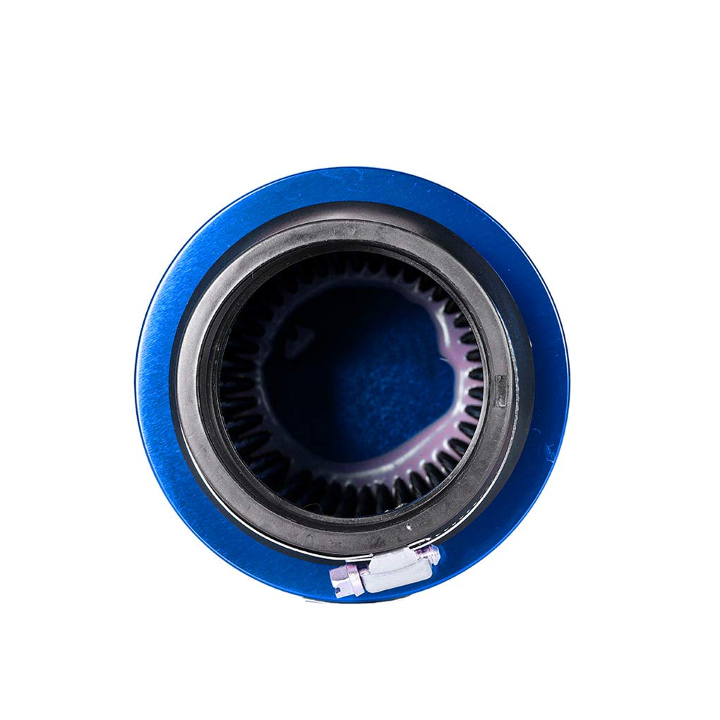 JinzukeDe Alto Flujo del Aire fr/ío del Filtro 76 mm Di/ámetro de Tela no Tejida de 3 Pulgadas Filtro de Aire Accesorios para Auto