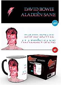 GB Eye LTD, David Bowie, Aladdin Sane, Taza Mágica cambiante de color