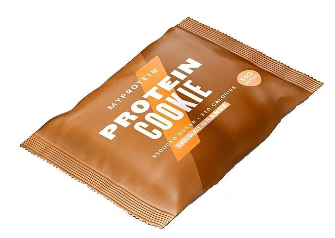 MyProtein Cookie Galletas de Proteínas, Sabor Chocolate con Naranja - 12 Unidades: Amazon.es: Salud y cuidado personal