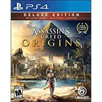 Assassins Creed: Origins Deluxe Edition for PlayStation 4 by Ubisoft