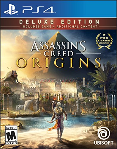 Assassin's Creed Origins Deluxe Edition - PS4 [Digital Code] by Ubisoft