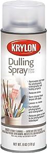 Krylon K01310007 Dulling Spray Craft Supplies,6 Ounces