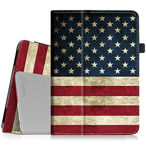 Fintie iPad mini 1/2/3 Case - Folio Slim Fit Stand Case with Smart Cover Auto Sleep / Wake Feature for Apple iPad mini 1 / iPad mini 2 / iPad mini 3, US Flag