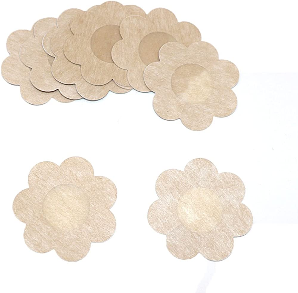 40 PSC of Invisible Breast Pasties Adhesive Nipple Cover Sticker Pads 20 Pairs
