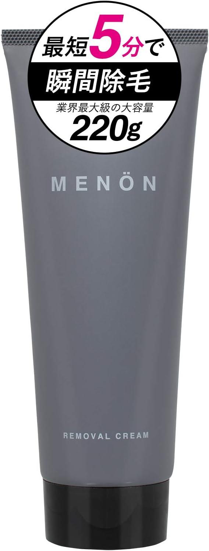 医薬部外品 MENON 除毛クリーム 220g 約2カ月分