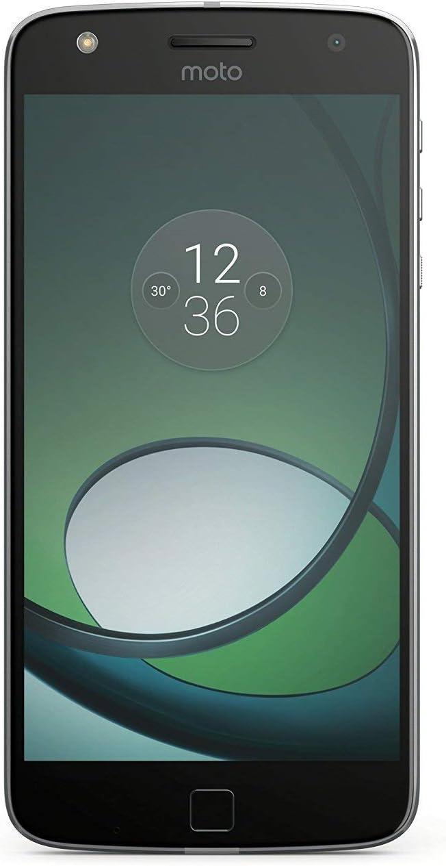 Motorola Moto Z Play XT1635-02 32GB Black, Dual Sim, 5.5-Inch, GSM Unlocked International Model, No Warranty