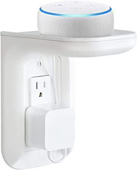 Echogear Outlet Shelf for Amazon Echo Devices