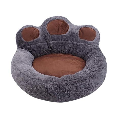 HOUMENGO Cama para Mascotas, Perro, Gato, calmante, Bear Claw Pet ...