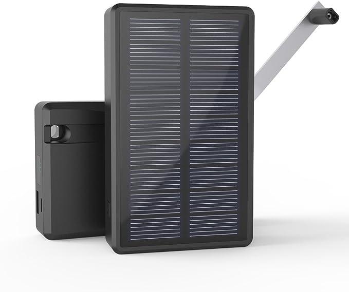 MAXOAK Cargador Solar Power Bank Batería Externa Para Smartphone ...
