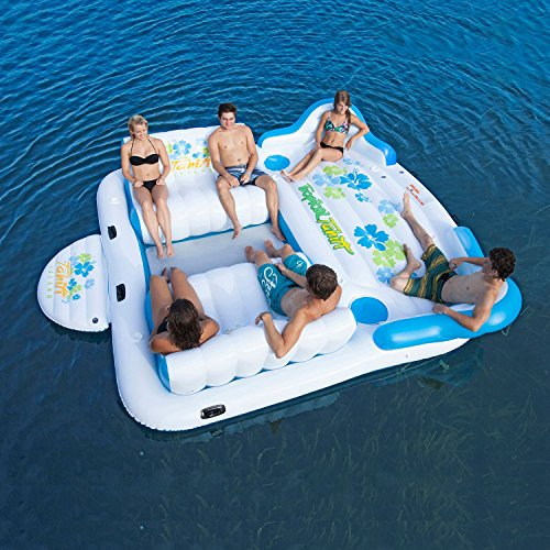 Tropical Tahiti Floating Island (6 Person) -2016 newest (Island Float)