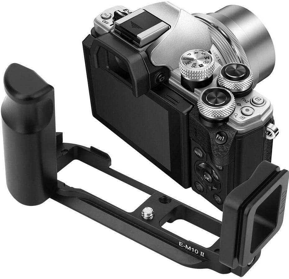 Diyeeni Quick Release L-Bracket,Universal Camera L Bracket Suitable for Olympus E-M10 II,Durable