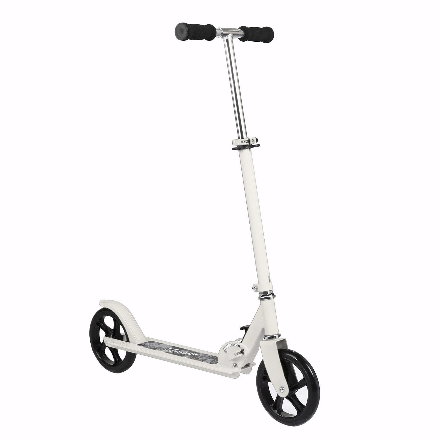 Adult Easy Folding Kick Scooter, 3 Levels Adjustable Height 2-Wheel Scooter for 12 13-50 Years Old , US STOCK