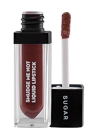 6ec1bc7518bb Buy SUGAR Cosmetics Smudge Me Not Liquid Lipstick 14 Teak Mystique (Warm  Brown)