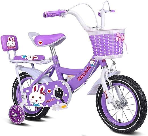 GAIQIN Durable Bicicleta para niños Adecuada para niños y niñas de ...