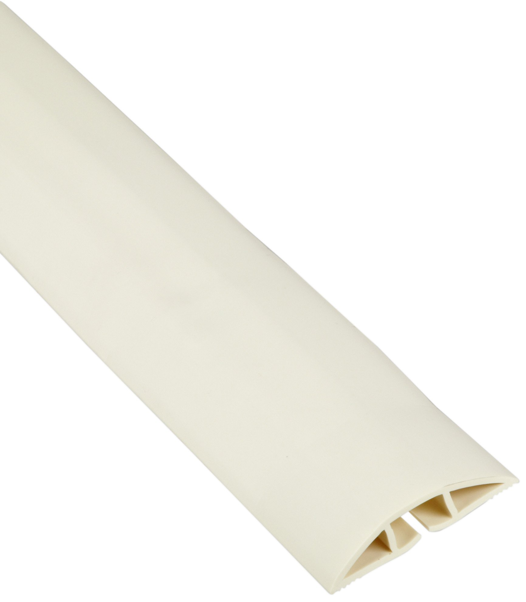 Morris Products 22616 Soft Wiring Duct, Off White, 0.75'' ID, 2-1/2'' OD, 0.60'' Width, 0.43'' Height by Morris Products (Image #1)