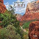 Utah Wild & Scenic 2020 7 x 7 Inch Monthly Mini Wall Calendar, USA United States of America Rocky Mountain State Nature