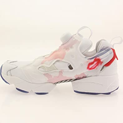 1e80e639d4a Image Unavailable. Image not available for. Color  Reebok Women Instapump  Fury Celebration Valentine Day (white   red rsh   midnight blue)