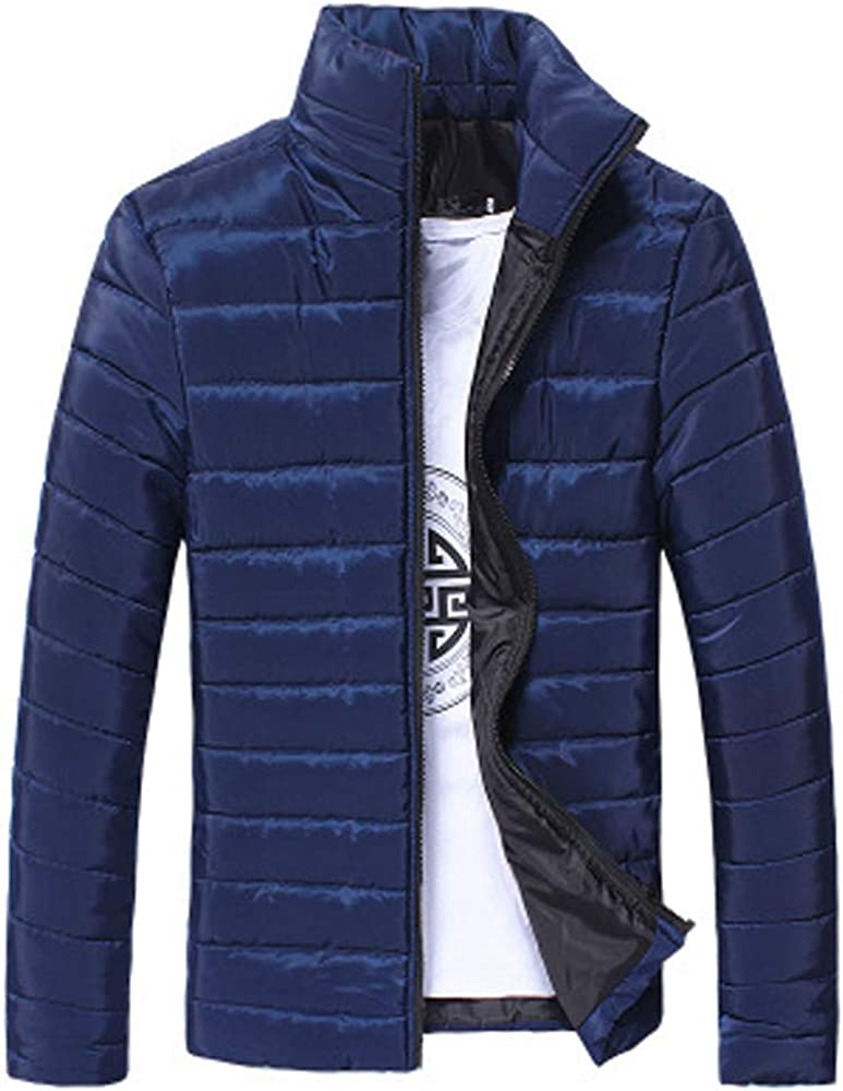 MEIbax Chaqueta con cremallera de lana cálida de invierno de ...