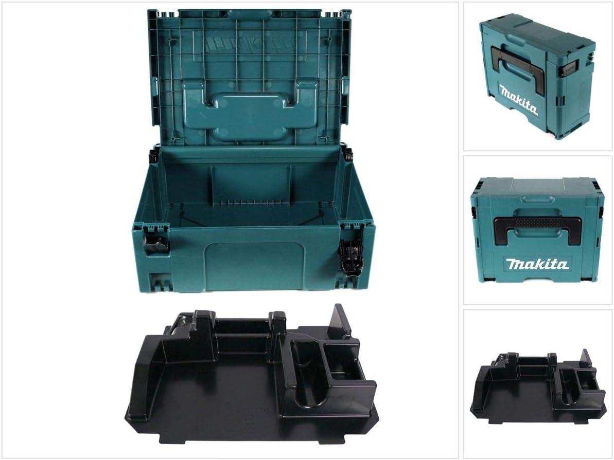 Makita MAKPAC 2 sistema maleta - con depósito para BDA/Dad 351: Amazon.es: Bricolaje y herramientas