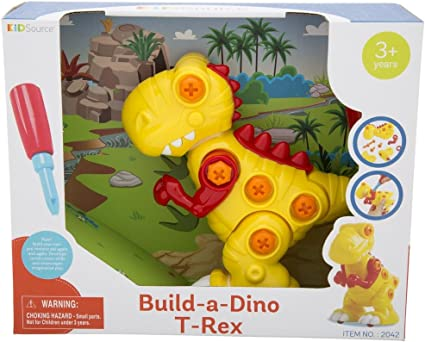 Engineering Building Toy Tyrannosaurus Rex Dinosaur Take Apart with tool Toy