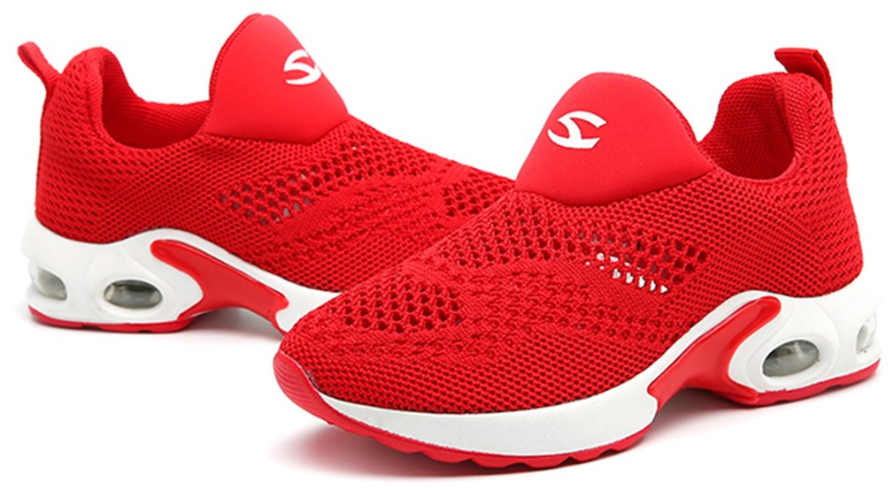 VECJUNIA Boy's Girl's Low Top Mesh Slip-On Non-Slip Outdoor Sneaker Travel Shoes by VECJUNIA (Image #5)