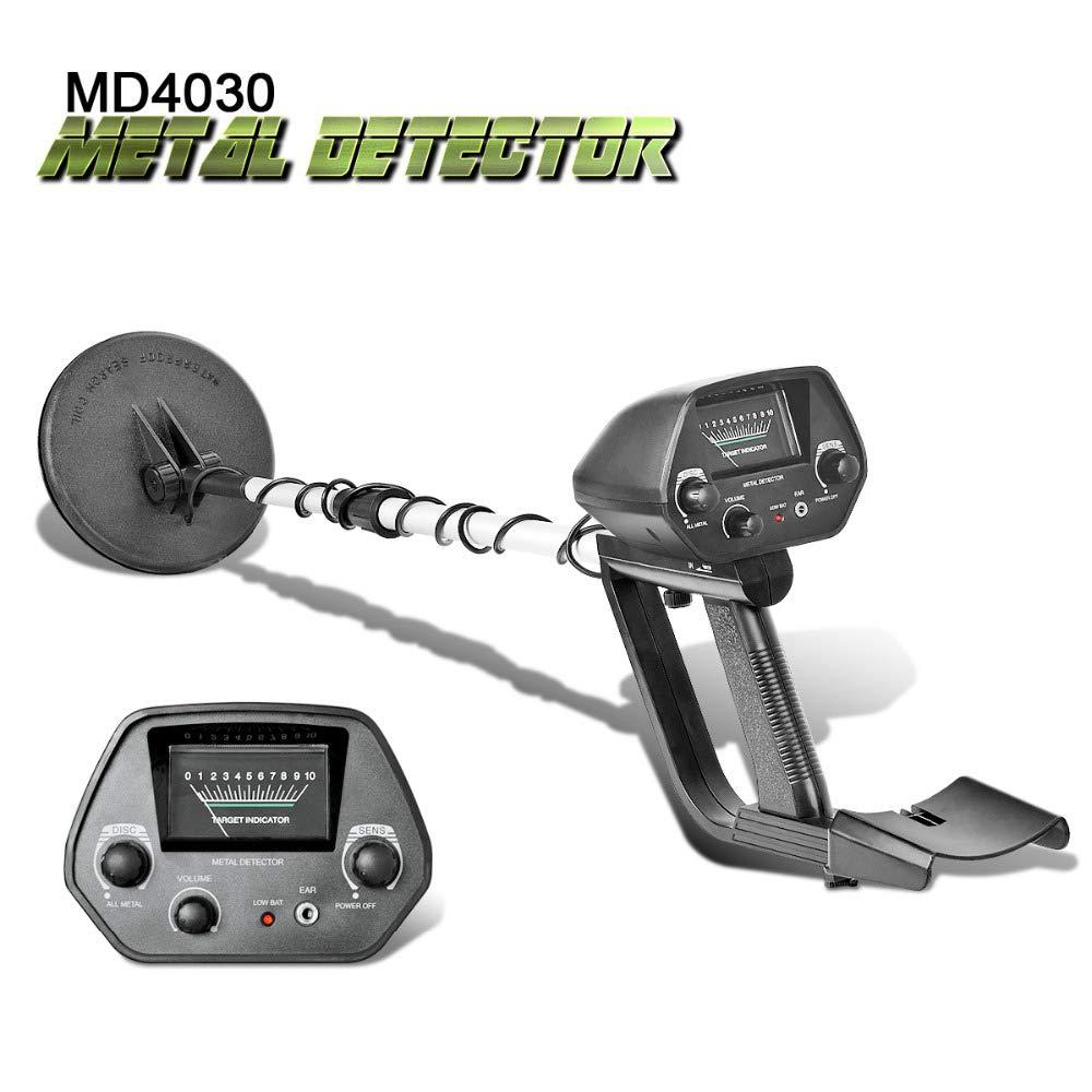 TOPQSC Metal Detector-Professional Buscador de Metal Ajustable Ligero Gold Digger Bisagra de búsqueda Impermeable (MD4030): Amazon.es: Jardín