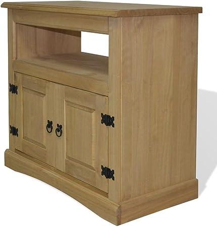Festnight Mueble para TV Corona Range - Color de Marrón Material de Madera, 80x43x78 cm: Amazon.es: Hogar