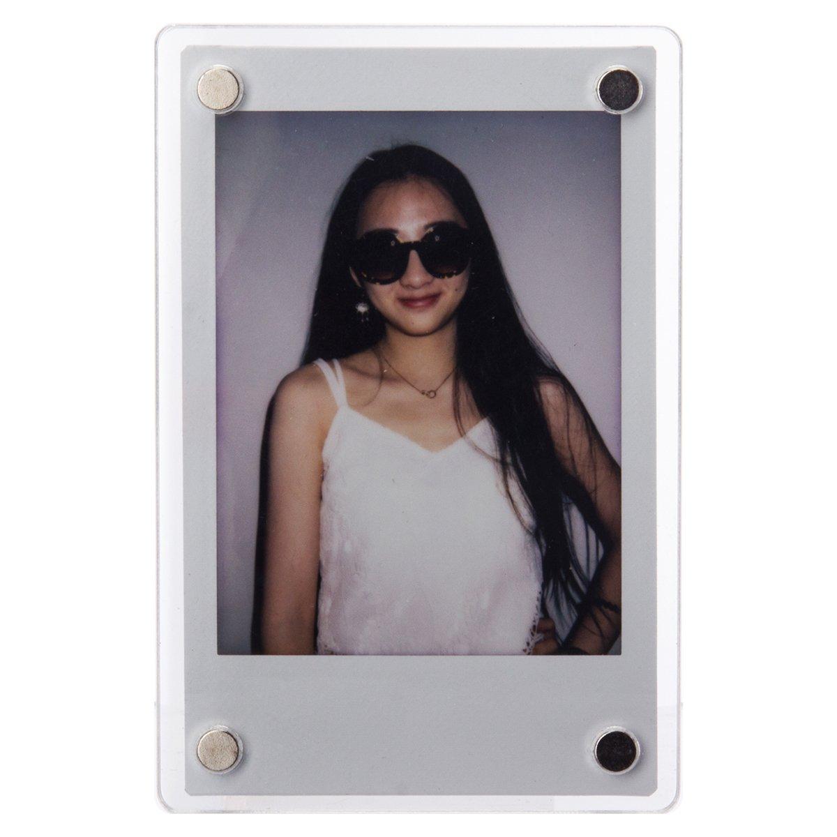 [Fujifilm Instax Photo Frame] Woodmin 3- inch Colorful Wall Decor Hanging Combination Frame for Instax mini / Pringo 231 /SP 1 / Polaroid PIC-300P / Polaroid Z2300 Films