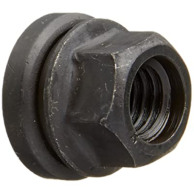 Dorman (611-196.1) 21mm Hex Size x 22.6mm Long x M14-2.0 Thread Size Flanged Flat Face Wheel Nut: Automotive