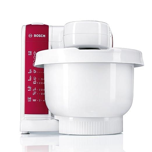 Amazon.de: Bosch MUM4825 Küchenmaschine (600 Watt, Kunststoff ...