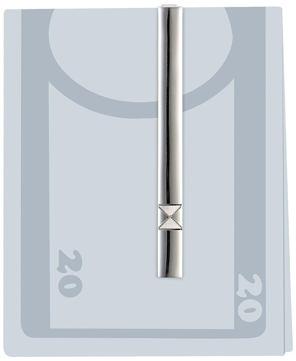 14-KHS-708 MTS Pince /à cravate pour homme Argent