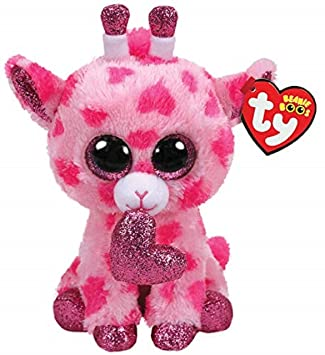 332ac55f710 Ty Claire s Beanies Girl s Beanie Boo Small Sweetums The Giraffe Plush Toy