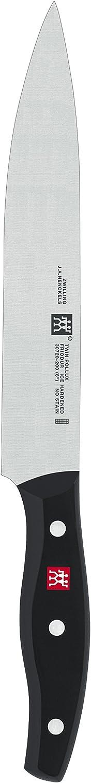 ZWILLING Chinesisches Kochmesser Twin Pollux Gro/ßes Klingenblatt Klingenl/änge: 18,5 cm Rostfreier Spezialstahl//Kunststoff-Griff