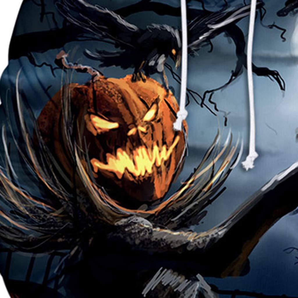 VECDY Tops Effrayant Halloween Imprim/é 3D Sweats a Capuche Les Couples Manches Longues Sweat-Shirts Femme Tops Homme Pull-Over F/ête Amant Chemisier Femmes Hommes Hauts Sportswear