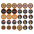 Extra Caffeine Extra Bold Coffee Single Serve Cups For Keurig K Cup Brewers 1.0 and 2.0 Variety Pack Sampler