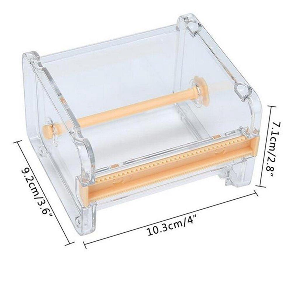 Portarrollos de cinta adhesiva con cortados Dometool 2 unidades organizador de mesa de escritorio