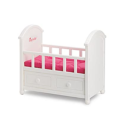 amazon com american girl bitty baby white crib for dolls office