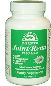 Joint Renu Plus MSM Nature Cure Bee 120 Tabs