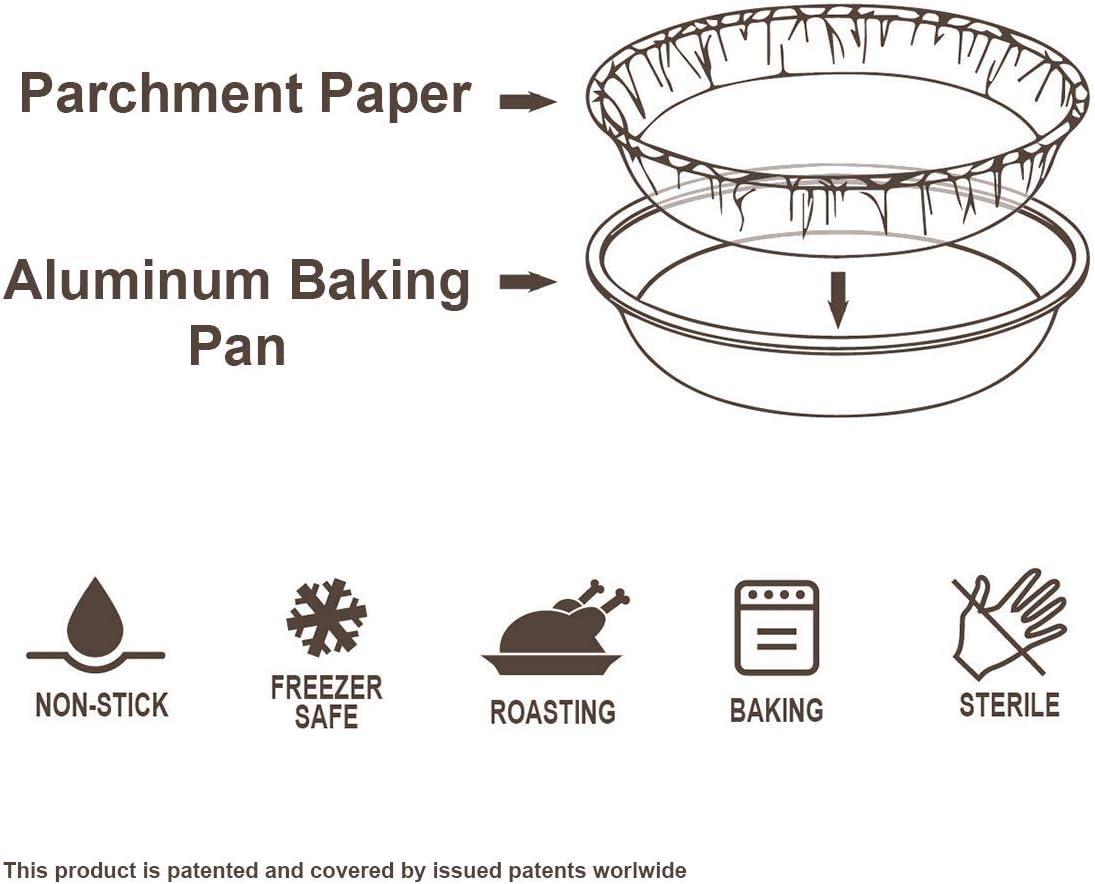 31 x 10 x 4.5 cm Aluminium Auffangwannen f/ür das Kochen R/östen Backend Life Story Antihaft Aluschalen Grillschalen mit Backpapier 5 st/ück Grillen