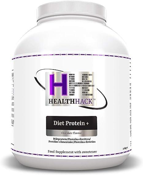 Health Hack - Diet Plus Protein, 2,5 kg, chocolate