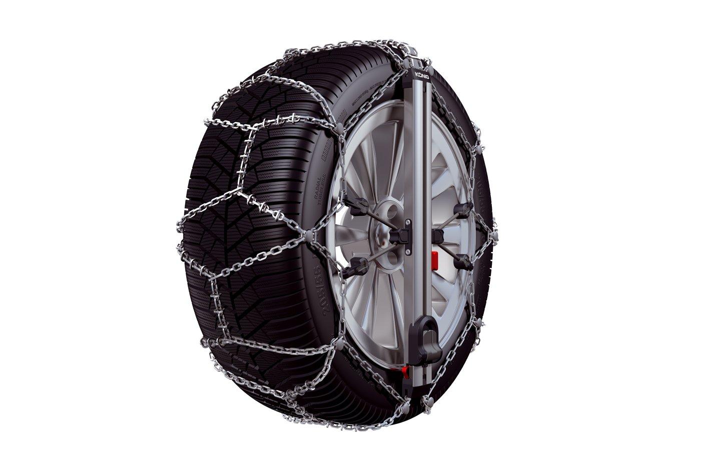 K/ÖNIG EASY-FIT CU-10 104 Snow chains set of 2