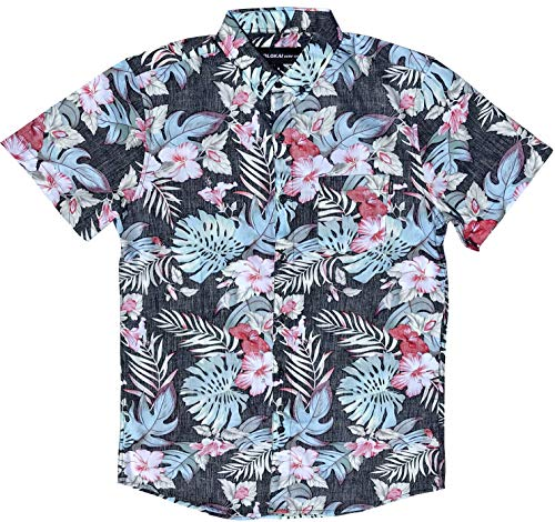 Official Molokai Shirts (Tropical Foliage, Large) -