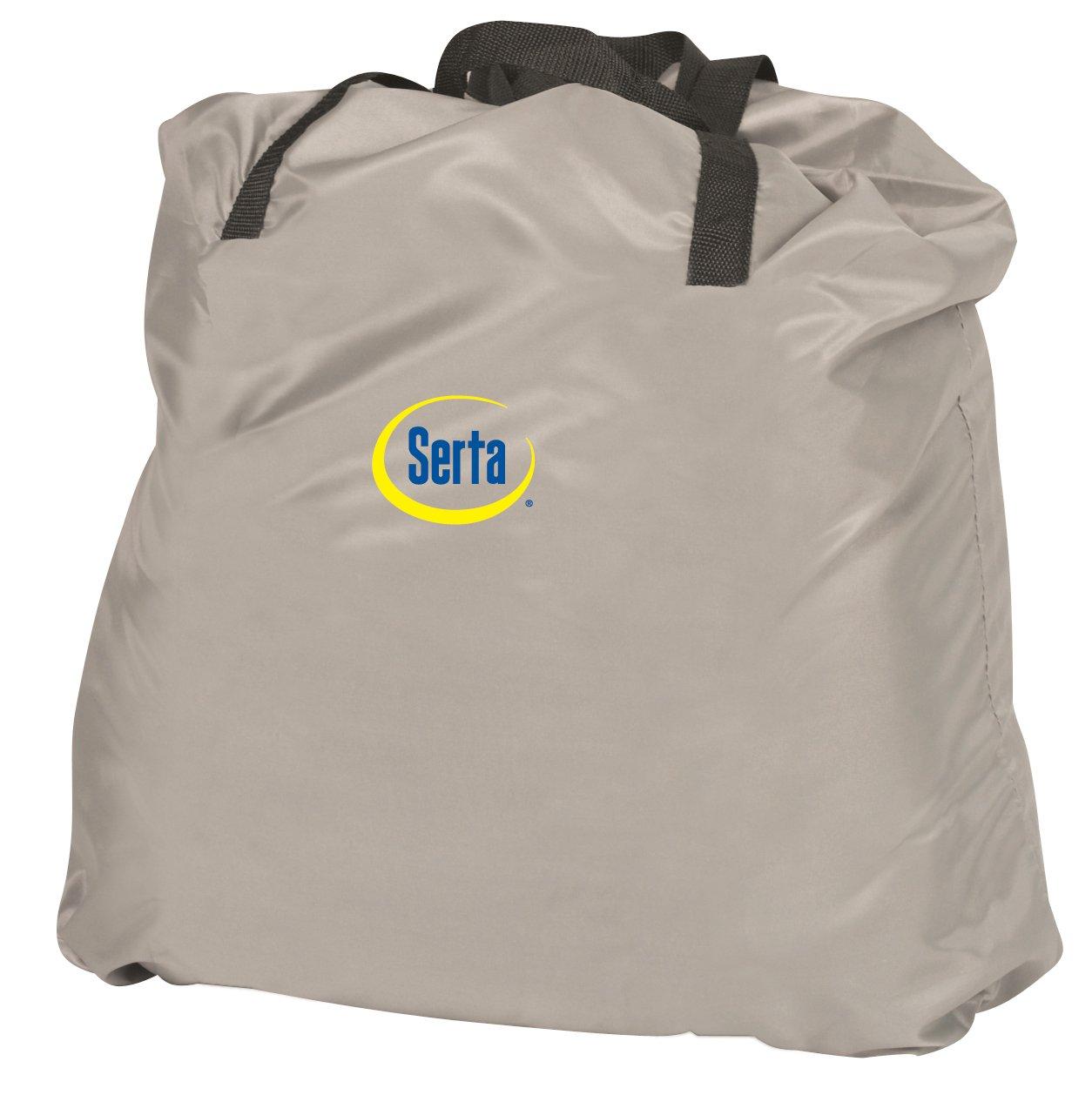 Amazon.com: Serta Raised Queen Pillow Top Air Mattress with Never Flat Pump: Sports & Outdoors